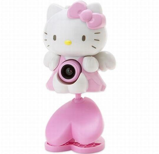 Webcam Hello Kitty 1.3 Mp Portátil S/microfone