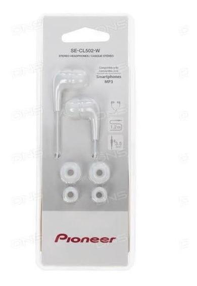 Fone De Ouvido Pioneer Se-cl502-p Branco