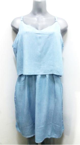 Vestidos Cortos Charming Charlie Azul Jean - Talla L
