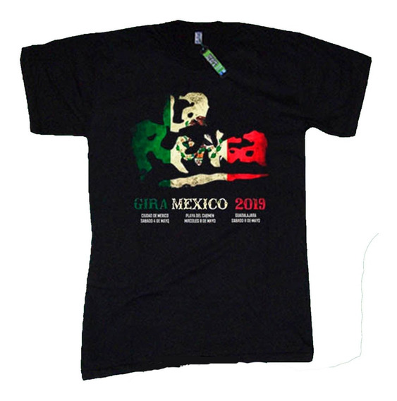 Lum - Remeras Rock La Renga Mexico - Algodon 1ª Calidad