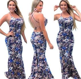 f2846c19e Vestido Longo Elastico - Vestidos Casuais Longos Femininas no ...