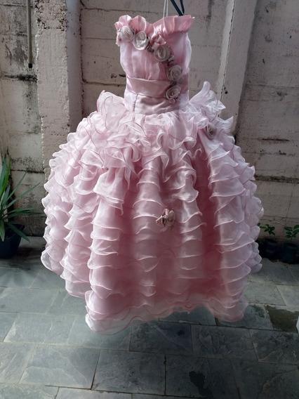 Vestido De Dama Cod 10+brinde