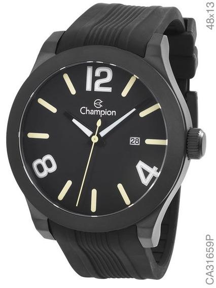 Relógio Champion Masculino Pulseira Silicone Ca31659p