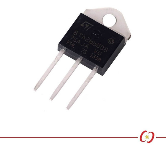 Triac Bta26 - 600v / 25a - To-218