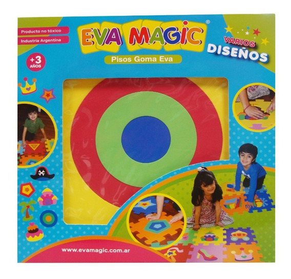 Piso De Goma Eva Encastrable Eva Magic 50/1 (4235)