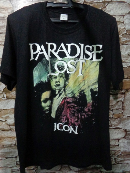 Camiseta Camisa Bandas De Rock Metal - Paradise Lost