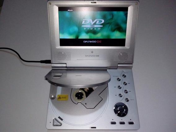 Dvd Portátil Daewoo Dpc 7400n Con Bolso, Accesorios Y Mas +