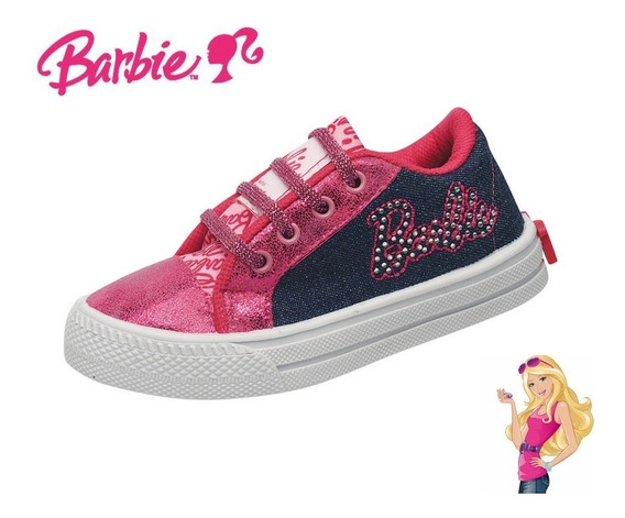 Zapatillas Urbanas Con Cordones De Barbie Nena Niña