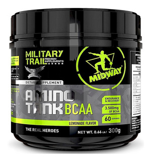 Amino Tank Bcaa 3500mg (300g ) - Military Trail