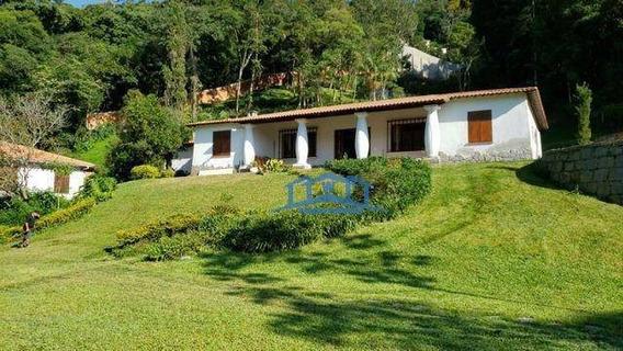 Belíssimo Sitio À Venda - Quarteirão Italiano - Petrópolis/rj - Ch0004