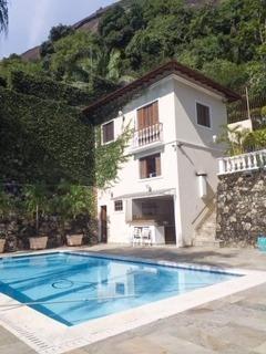 Casa À Venda, 7 Quartos, 3 Vagas, Cosme Velho - Rio De Janeiro/rj - 527