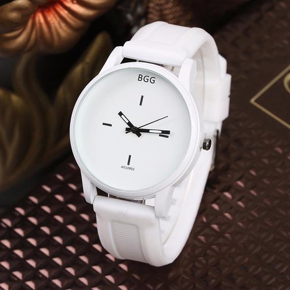 Relojes Para Dama De Cuarzo Y Correa De Silicona