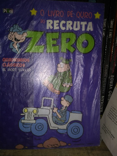 Recruta Zero - O Livro De Ouro Vol 4 - Capa Dura