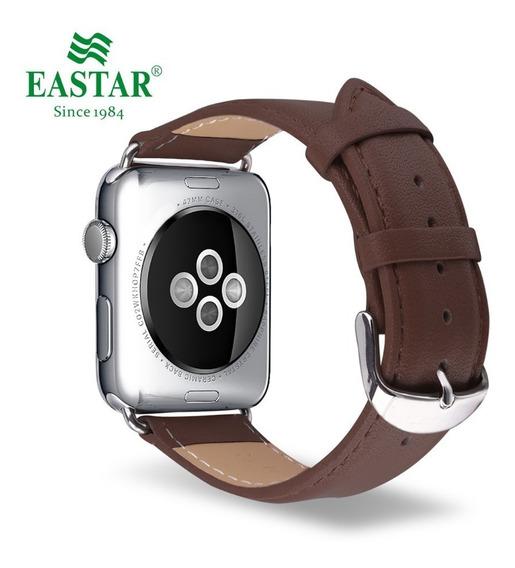 Pulseira De Couro Social Apple Watch 1 2 3 4 38/40/42/44mm