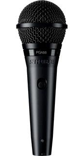 Shure Pga58 Micrófono Para Voces