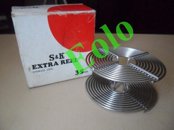 Carretel 35 Espiral Aço Inox Novo* Revelar Filme Laboratório