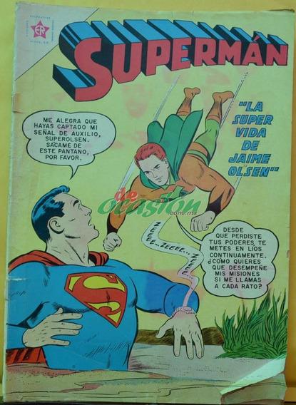 Cómic Superman No. 334 (1962) Ediciones Recreativas, Novaro