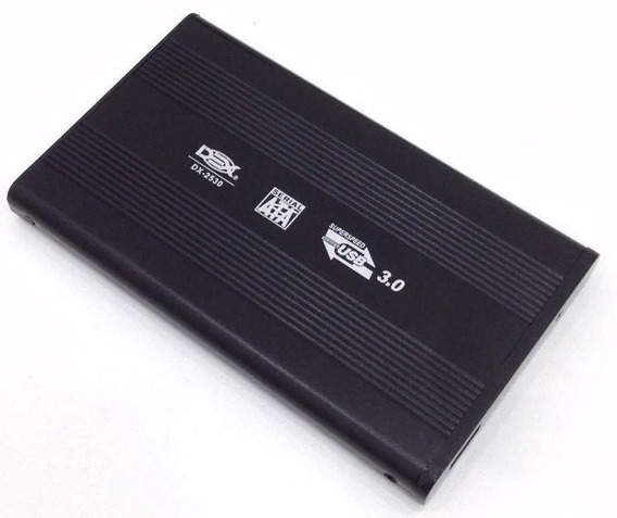 Case Usb 3.0 Externo Hd Sata 2,5 Notebook Ssd Xbox One Ps4