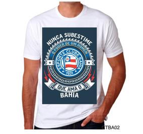 Camisa Camiseta Personalizada Bahia Promoção