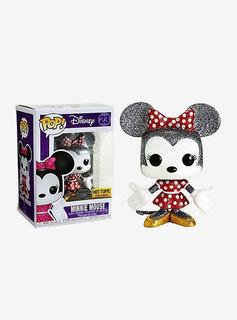 Minnie Mouse Disney Diamond Hot Topic Funko Pop