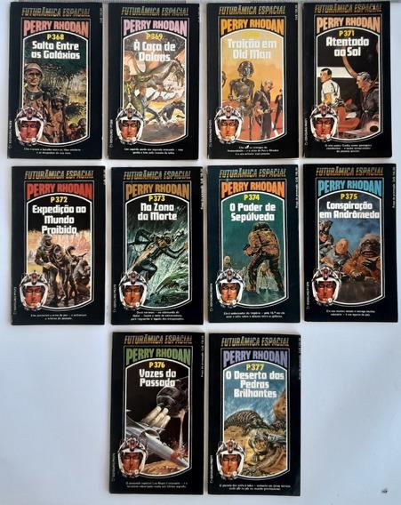 Livro Perry Rhodan Futurâmica Especial Pacote Com 10 Livros