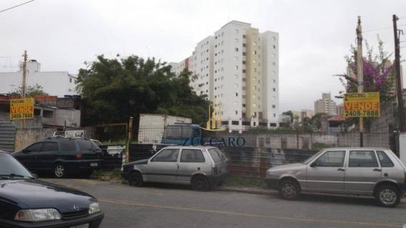 Terreno Comercial À Venda, 1.000 M² R$ 1.200.000 - Vila Galvão, Guarulhos. - Te0843