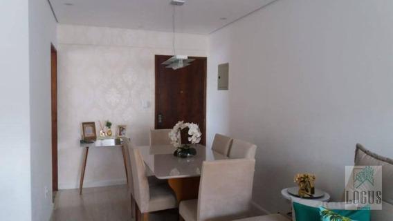 Apartamento Com 2 Dormitórios À Venda, 66 M² Por R$ 320.000,00 - Nova Gerti - São Caetano Do Sul/sp - Ap0587