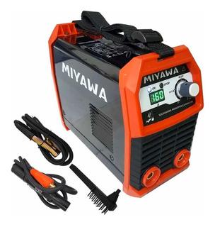 Soldadora Inverter Miyawa Mma195 160 Amp. Promo!!! Liviana