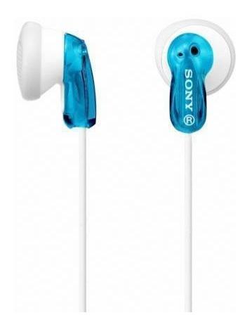Fone De Ouvido P2 Sony Mdr-e9lp Azul Intra Auricular