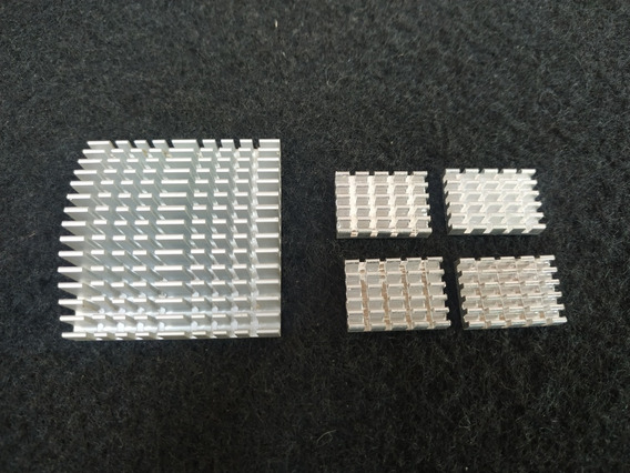 Kit C/ 5 Dissipador De Calor Alumínio ( Leia O Anuncio)