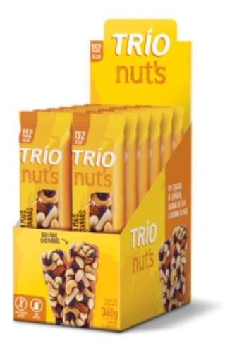Trio Barra Nuts Castanha Tradicional C/12