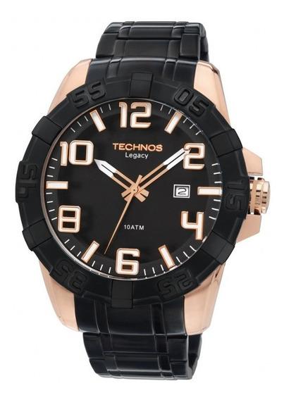 Relógio Masculino Technos Preto Classic Legacy 2315abk/1p
