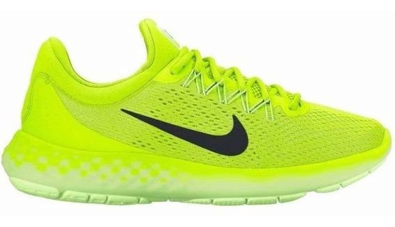 Nike Hombres Lunar Skyelux Correr Zapatos Verde 855808-700 U
