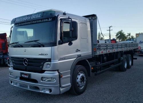 Imagem 1 de 15 de Mercedes Benz Atego 2425 - Carroceria 8.60m 6x2