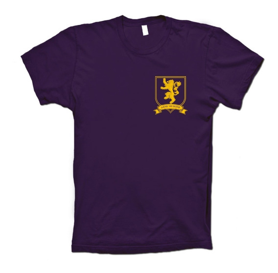 Game Of Thrones Playera House Lannister Escudo Hombre Mujer