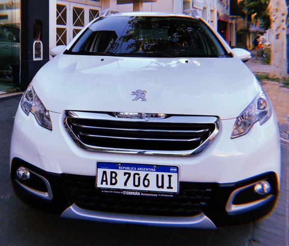 Peugeot 2008 1.6 Allure 2017 Full Con 47.000 Km. Navegador.