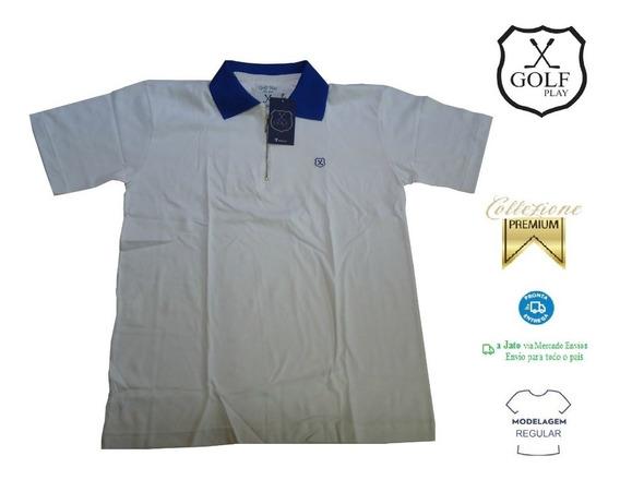 Golf Play Camisa Camiseta Pólo Masculina Frete Grátis