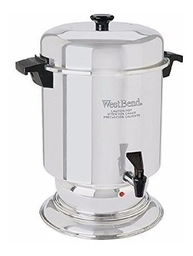 Cafetera Percoladora De 55 Tazas Comercial West Bend 13550