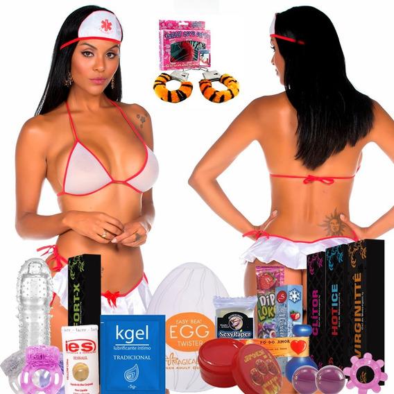 Kit Erotico 50 Produtos Sexy Sexshop Baralho Kama Sutra