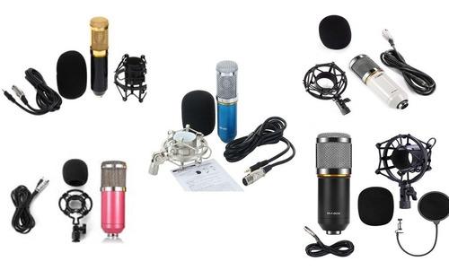 Microfono De Grabacion Nuevo Bm 800