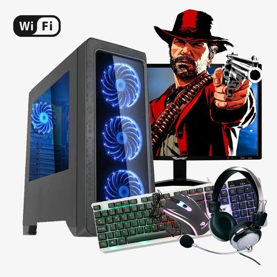 Pc Gamer Core I3 4ª, 16gb Ram Ddr3, Hd 1tb, Gt 710 2gb