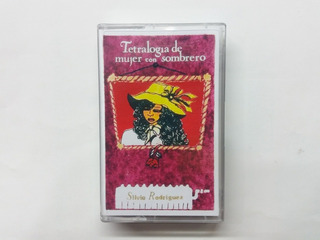 Silvio Rodriguez Tetralogía De Mujer Con Sombrero Cassette