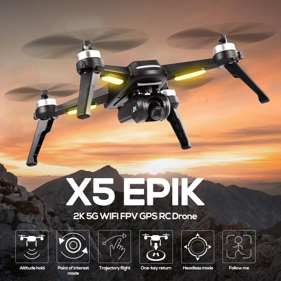 Jjr/c X5 Epik Rc Drone Con Cámara 2k 5g Wifi Fpv Gps