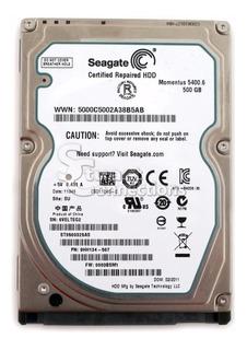 Disco 2.5 Seagate 500gb Problema Smart