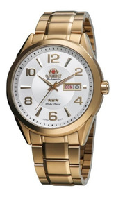 Relógio Orient Masculino Automático Dourado 33140