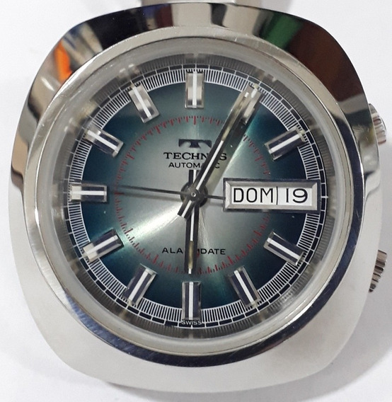 Technos Alarm Date 10670 Incabloc Suiss Made.