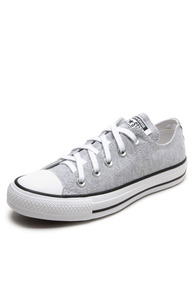 Tênis All Star Converse Cinza Claro Original