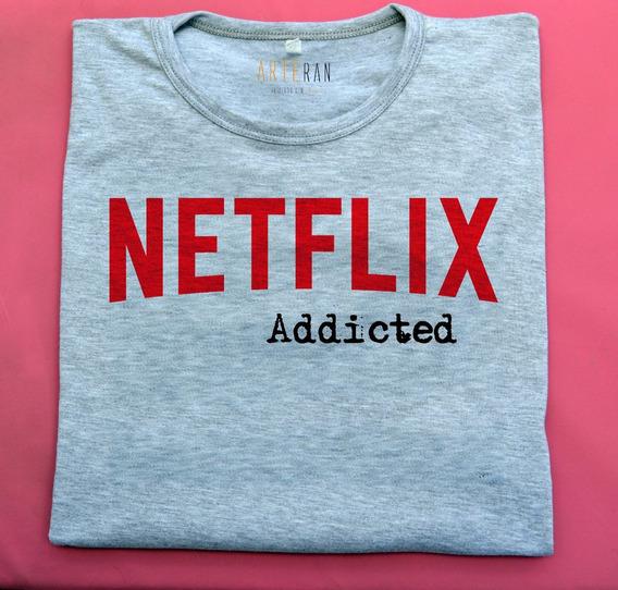 Remeras Solo Para Adictos A Netflix Por Arteran