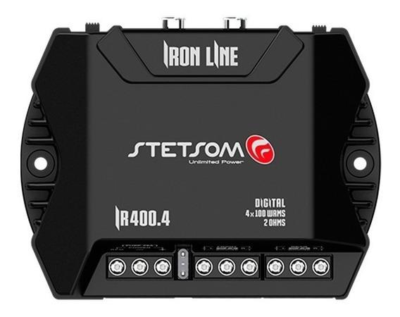 Módulo Amplificador Stetsom Iron Line Ir 400.4 400w Rms 4 C