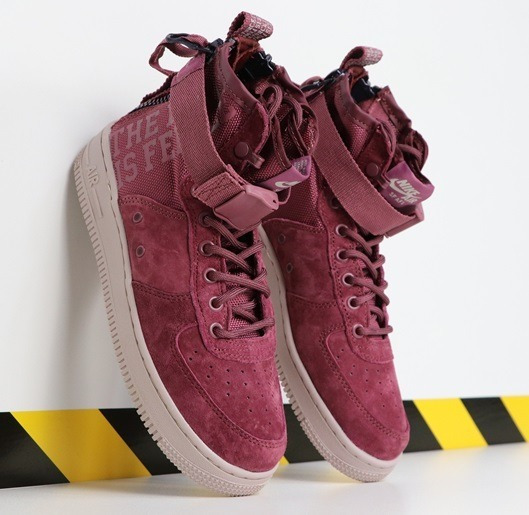 Zapatillas Nike Special Forces Air Force 1 Mid Terracorta